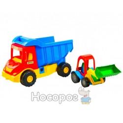 Грузовик Multi truck с трактором 39219