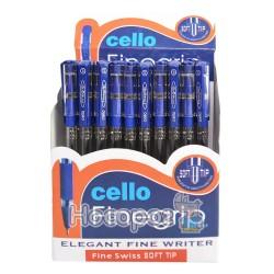 Ручка шариковая CELLO Finegrip (Синий)