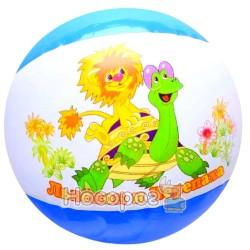 Мяч надувной 19020606 Львенок и черепаха