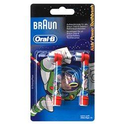 Насадка для зубної щітки Braun Oral-B EB10 (2 шт.) 81318057