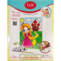 """Роспись по холсту D&M """"Маленькая Принцесса"""" 3"""