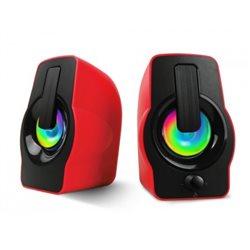 Акустические колонки HAVIT HV-SK586 USB, 2,0 speaker, red (20шт/ящ)
