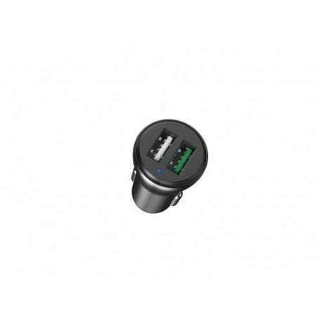 Фото Автомобильная зарядка HAVIT HV-H213, 2 USB 3.0+2.4A, black