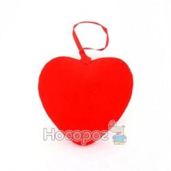 Валентинка на подвеске из велюра YGQ3763