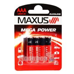 Батарейки MAXUS LR03/1.5V AАA минипальчик
