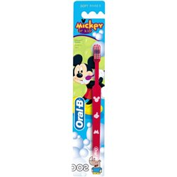 Зубная щетка для детей Oral-B Kids Mickey экстра мягкая (3014260286323)