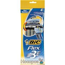 Набор бритв без сменных картриджей BIC Flex 3 4 шт (3086123242524)