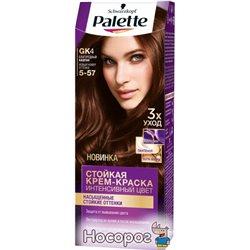 Краска для волос Palette GK4 (5-57) Благородный Каштан 110 мл (3178041320535)