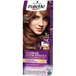 Краска для волос Palette CK6 (7-17) Теплый каштановый 110 мл (3178041320542)