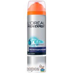 Гель для гоління L'oreal Paris Men Expert проти подразнень 200 мл (3600522056577)