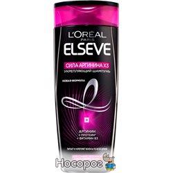 Шампунь L'oreal Paris Elseve Сила Аргинина Х3 для слабых склонных к выпадению волос 400 мл (3600522158370)