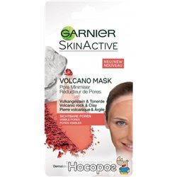 Маска для лица Garnier Skin Active Распаривающая для кожи с расширенными порами 8 мл (3600542032575)