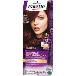 Краска для волос Palette RF-3 (4-88) Красный гранат 110 мл (3838824048536)