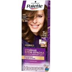 Краска для волос Palette W5 (6-65) Золотистый грильяж 110 мл (3838824188928)