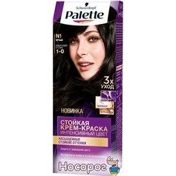 Краска для волос Palette N-1 (1-0) Черный 110 мл (3838905551559)