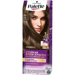 Краска для волос Palette N-5 (6-0) Темно-русый 110 мл (3838905551597)
