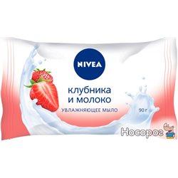 Мыло Nivea Клубника и молоко 90 г (4005808824328)