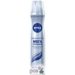 Лак для волосся Nivea Мега Сильний 250 мл (4005900352972)