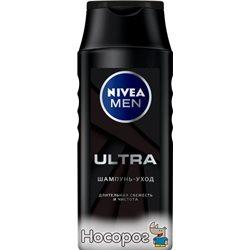 Шампунь-уход для мужчин Nivea Men Ultra 250 мл (4005900492333)