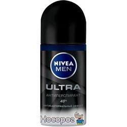 Дезодорант-антиперспирант для мужчин Nivea Men Ultra 50 мл (4005900494634)