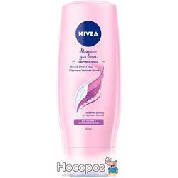 Бальзам-уход Nivea Молочко для волос Здоровый Блеск 200 мл (4005900544070)