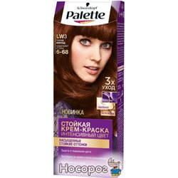 Краска для волос Palette LW3 (6-68) Горячий шоколад 110 мл (4015001009200)