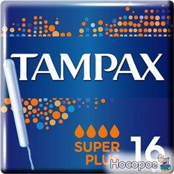 Тампоны Tampax Super Plus Duo с аппликатором 16 шт (4015400075110)