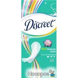 Щоденні гігієнічні прокладки Discreet Deo Water Lily Single 20Ш (4015400107835)