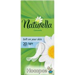 Ежедневные прокладки Naturella Light 20 шт (4015400198277)
