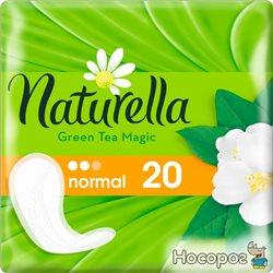 Щоденні гігієнічні прокладки Naturella Green Tea Magic Normal 20 шт (4015400481898)