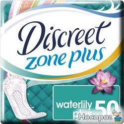 Ежедневные гигиенические прокладки Discreet Deo Water Lilly Plus 50 шт (4015400515623)