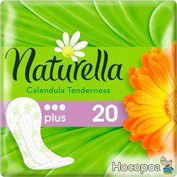 Щоденні гігієнічні прокладки Naturella Calendula Tenderness Plus 20 шт (4015400715092)