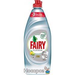 Средство для мытья посуды Fairy Platinum Лимон и лайм 650 мл (4015400992356)