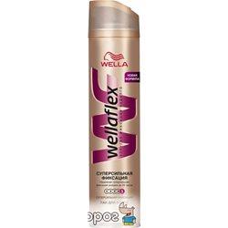 Лак для волос Wella Wellaflex Суперсильная фиксация 250 мл (4056800114047)