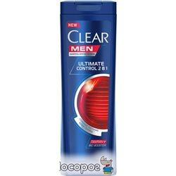 Шампунь-бальзам Clear проти лупи для чоловіків Ultimate Control 400 мл (4605922010487)