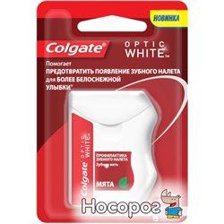 Зубная нить Colgate Optic White 25 м (4606144007606)