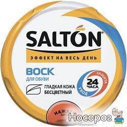 Воск Salton для обуви из гладкой кожи в банке 75 мл Бесцветный (4775/19)