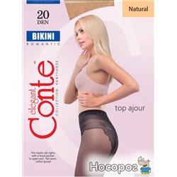 Колготки Conte Bikini 20 Den 4 р Natural -4810226005682