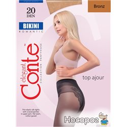 Колготки Conte Bikini 20 Den 3 р Bronz -4810226005736
