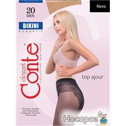 Колготки Conte Bikini 20 Den 2 р Nero -4810226005842