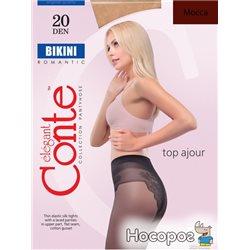 Колготки Conte Bikini 20 Den 2 р Mocca -4810226005903