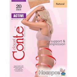 Колготки Conte Active 20 Den 5 р Natural -4810226006412