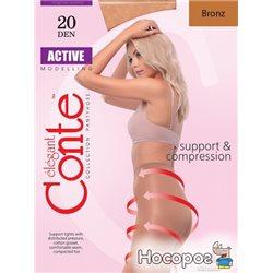 Колготки Conte Active 20 Den 3 р Bronz -4810226006450