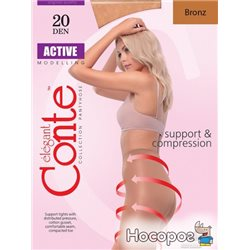 Колготки Conte Active 20 Den 5 р Bronz -4810226006474