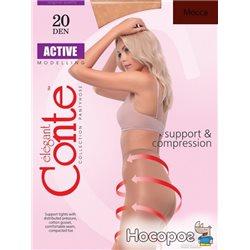 Колготки Conte Active 20 Den 2 р Mocca -4810226006627