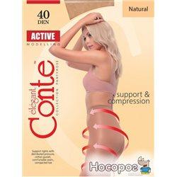 Колготки Conte Active 40 Den 3 р Natural -4810226006757