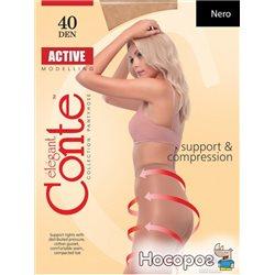 Колготки Conte Active 40 Den 4 р Nero -4810226006948