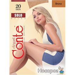 Колготки Conte Solo 20 Den 4 р Bronz -4810226008263