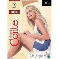 Колготки Conte Solo 20 Den 5 р Nero -4810226008393