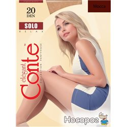 Колготки Conte Solo 20 Den 5 р Mocca -4810226008454